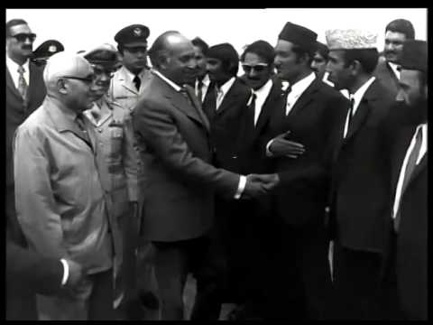 DAUD KHAN AND ZULFIKAR ALI BHUTTO IN KABUL  1975