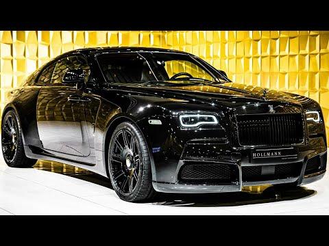 Rolls-Royce Wraith Black Badge by NOVITEC OVERDOSE [CloseUp] | 4k Video