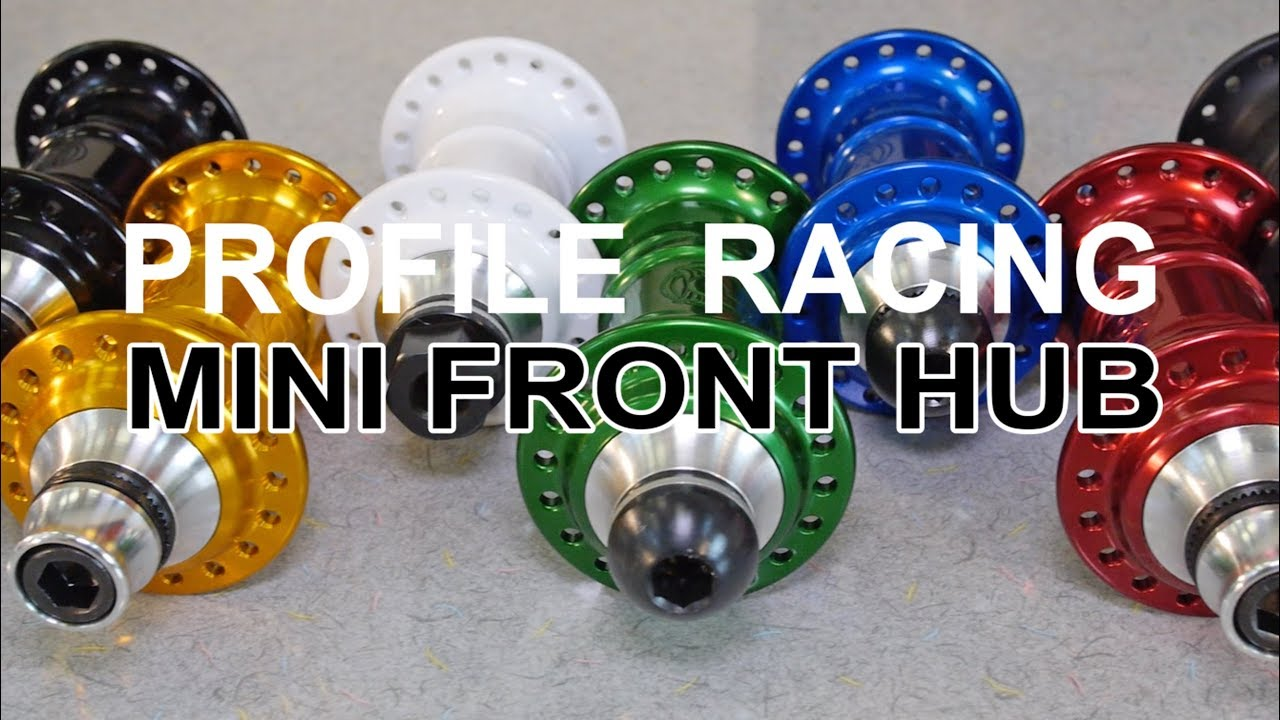 BMX PARTS - Profile Racing - Mini Front Hub