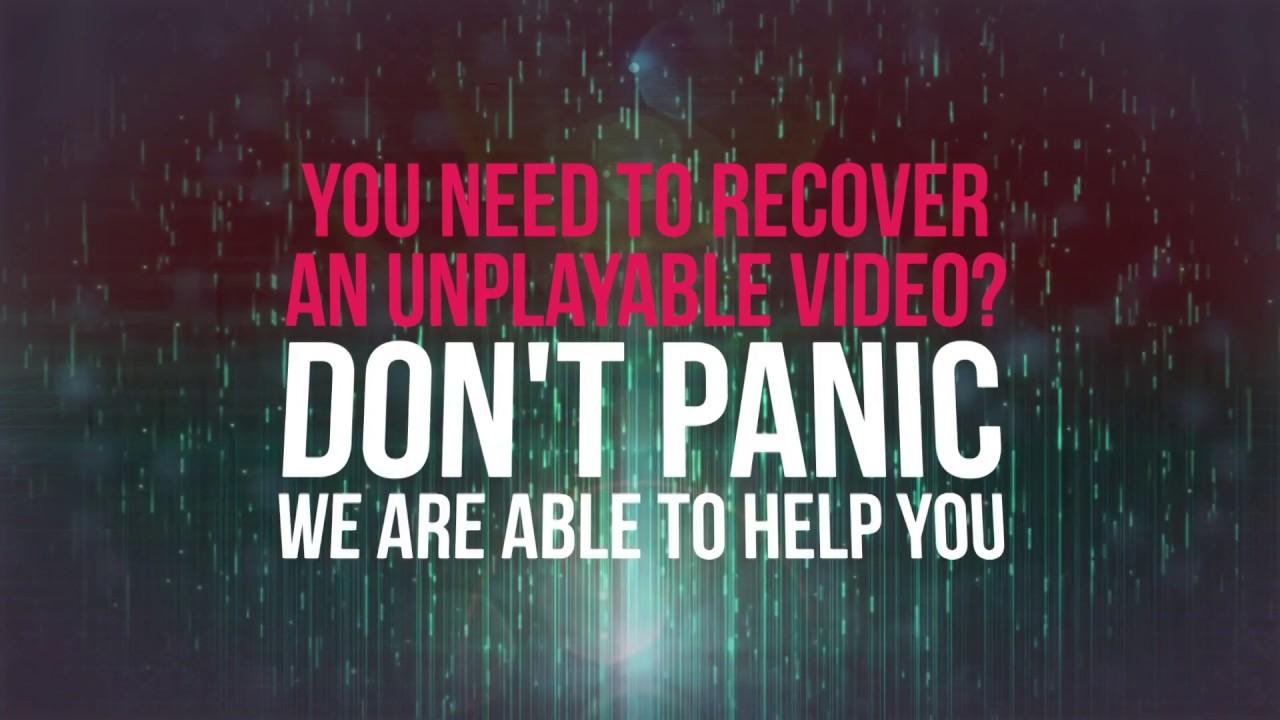 Repair corrupt, unreadable MP4 MOV video files online