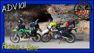 Which Adventure Motorcycle Type Should you Choose - ADV 101 Lesson 2