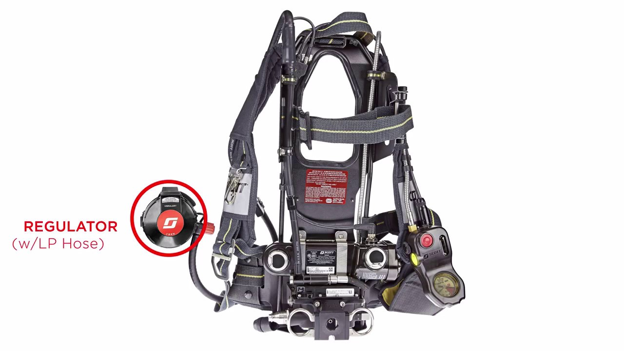 Scott Safety Scba Upgrade Kit Components