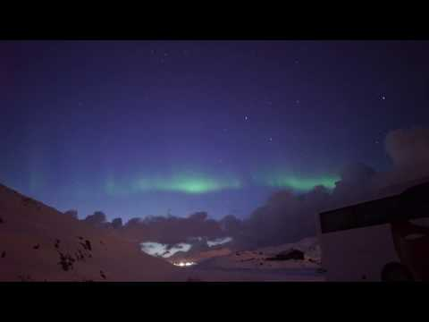 Honningsvag- Norway-  Northern Light -28 march 2017