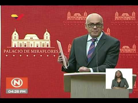 Jorge Rodríguez sobre declaraciones de Clíver Alcalá reconociendo preparación de golpe contra Maduro