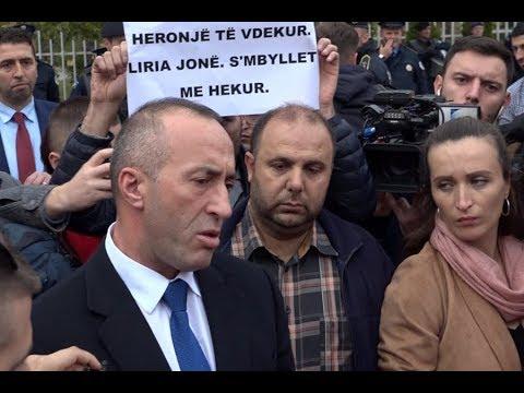 Haradinaj-protestuesit: Mshele gojën mos piskat