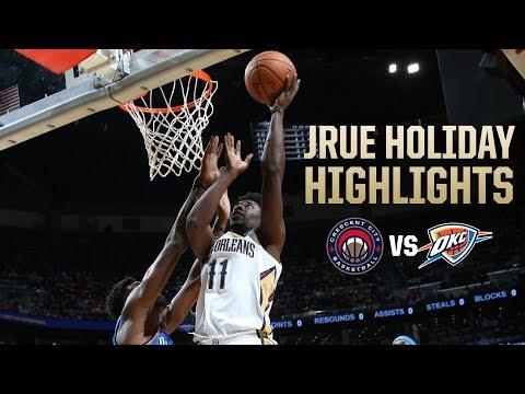 Jrue Holiday (18 points) Game Highlights vs. Oklahoma City Thunder