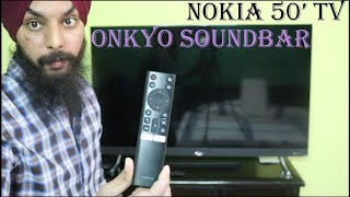 Nokia 50 39 4k UHD TV With Onkyo Sound Review 48w RMS HDR10