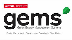 Green Energy Management Systems (GEMS) - Video Pitch