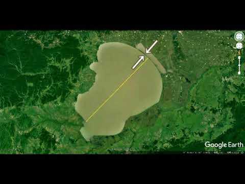 2375(8)The Great Banks in Amazonアマゾンの大堤防・エイリアンの土木力Aliens Civil Engineering by Hiroshi Hayashi, Japan