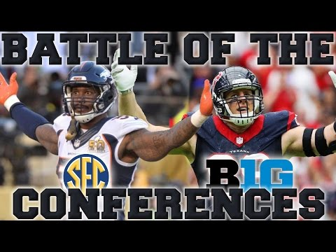 SEC vs Big Ten | Which Conference Produces the Best NFL Players?