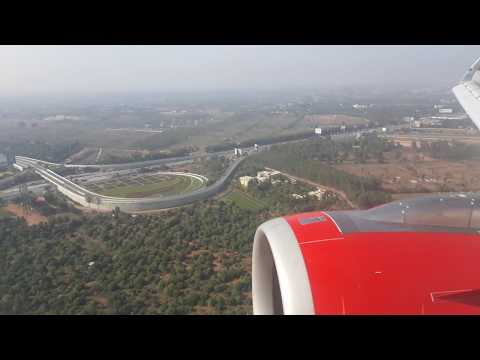 AIR INDIA A320 Amazing Landing in Bangalore International Airport