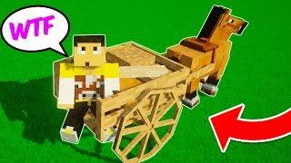 Video Minecraft   Como tener un chófer Caballo en 1 paso!!? download MP3, 3GP, MP4, WEBM, AVI, FLV Juli 2018