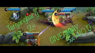 GIVEAWAY!!! 3X 410 DIAMOND MOBILE LEGENDS !!! (Tergangbang 2x)