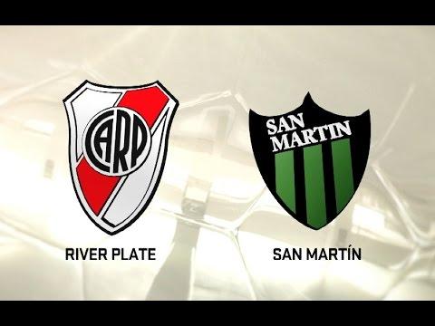 River vs. San Martín SJ. Fecha 3. Torneo de Primera División 2016/2017. FPT