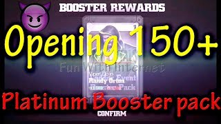 Opening 150+ PLATINUM Booster Pack WWE IMMORTALS