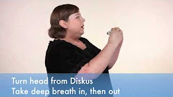 How to use a Diskus® asthma inhaler.