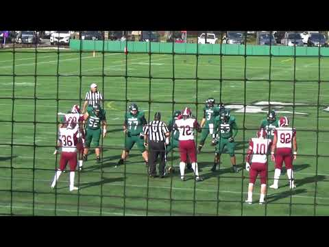 Mount Ida College Football vs Anna Maria 11 04 2017