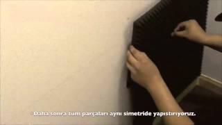 Akustik Sünger Nasıl Yapıştırılır ?