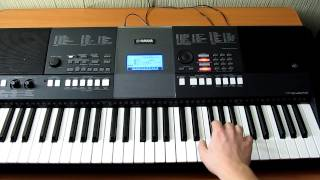 Обучение на синтезаторе Aura Dione - Geronimo (by Toffa Alimoff)