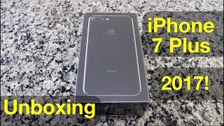 iPhone 7 Plus - Unboxing (versão Jet Black 32 GB)