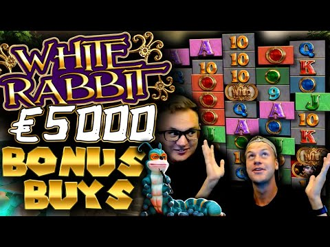 Buying €5000 Bonuses On White Rabbit AGAIN!