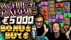 Buying €5000 Bonuses on White Rabbit AGAIN!