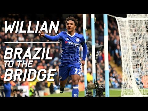 WILLIAN: From Brazil to the Bridge | An exclusive interview with 2015-16 Fans' Player of the Year
