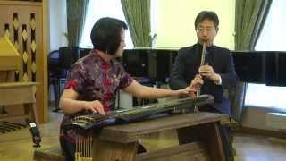 《頤真》琴簫合奏 李鳳雲 王建欣 Chinese classical music in Moscow