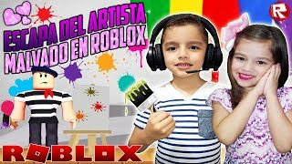 THE ARTIST IN ROBLOX [Escape The Art Store Obby] ROBLOX GAMES FOR CHILDREN💜