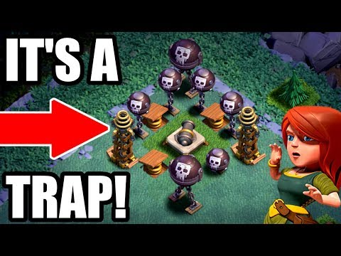 Thumbnail: WILL THIS ACTUALLY WORK!? - Clash of Clans - THE ULTIMATE BUILDER BASE TROLL!