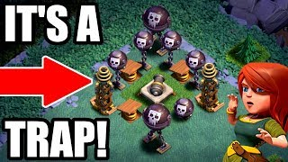 WILL THIS ACTUALLY WORK!? - Clash of Clans - THE ULTIMATE BUILDER BASE TROLL!