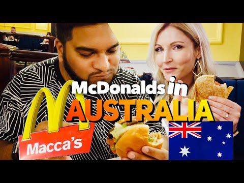 Trying McDonalds In AUSTRALIA!