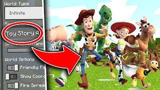 Do NOT Use the TOY STORY 4 Seed in Minecraft Pocket Edition...