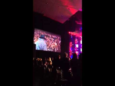 NEIL YOUNG performs BORN IN THE USA at the GRAMMY Musiccare
