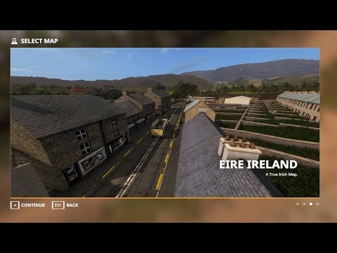 Youtube Map Of Ireland.Farming Simulator 19 Early Access Eire Ireland Map Episode 11