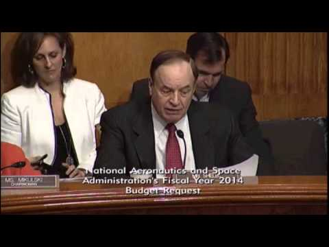 NASA Fiscal Year 2014 Proposed Budget, Senate Appropriations Committee, April 25, 2013