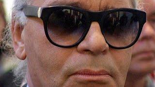 Karl Lagerfeld im SPIEGEL TV-Interview (1997)