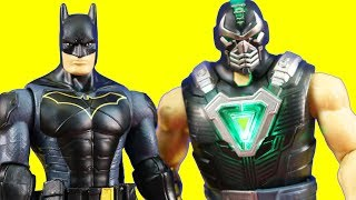 Power Rangers Rescue Knight Missions Batman & Robin From Jail And Battle Venom Bane
