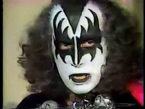 KISS November 1978 Cleveland, OH - Gene Simmons Interview