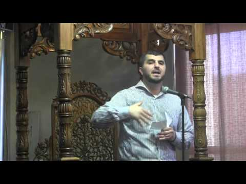Br  Sayel Kayed NHIEC English Khutbah 12/4/2015 Muslim Perspective on current events