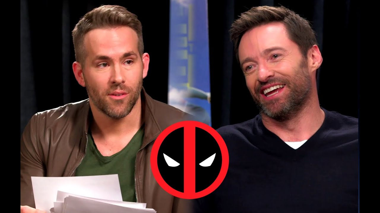 Deadpool Interviews Wolverine For EDDIE THE EAGLE Ryan - Deadpool and wolverine are trolling each other on twitter and its the best battle ever