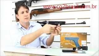 Pistola Airsoft Eletrica ASG AEP Glock G18C 6mm Sem Blowback 2
