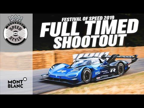 Festival of Speed 2019 Full Timed Shootout