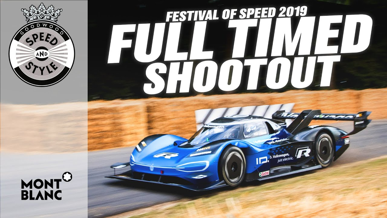 Electric Volkswagen Id R Blitzes The Goodwood Hill Climb Updated