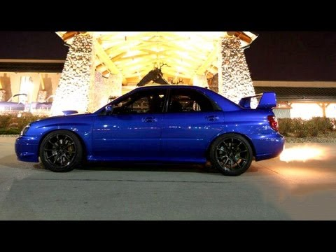 450hp STi vs the world