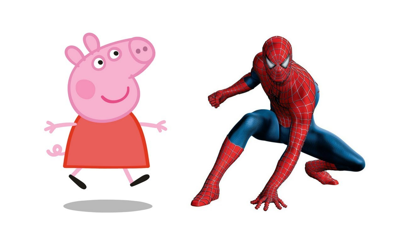 Chi si nasconde dietro peppa pig e spiderman indovina