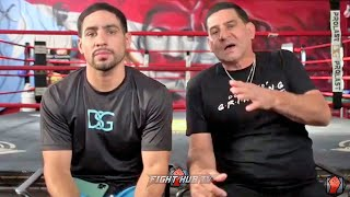 "ANGEL GARCIA ""WE GONNA BE ON TOP OF ERROL! MIKEY GARCIA RAN ALL NIGHT! TOOK A CHECK!"""