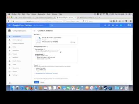 VPS Google Cloud