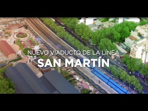 Las obras del San Martín