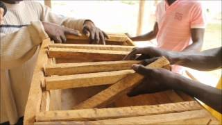 How To Construct Kenya & Saltpond Topbar Bee Hives - Peace Corps Ghana